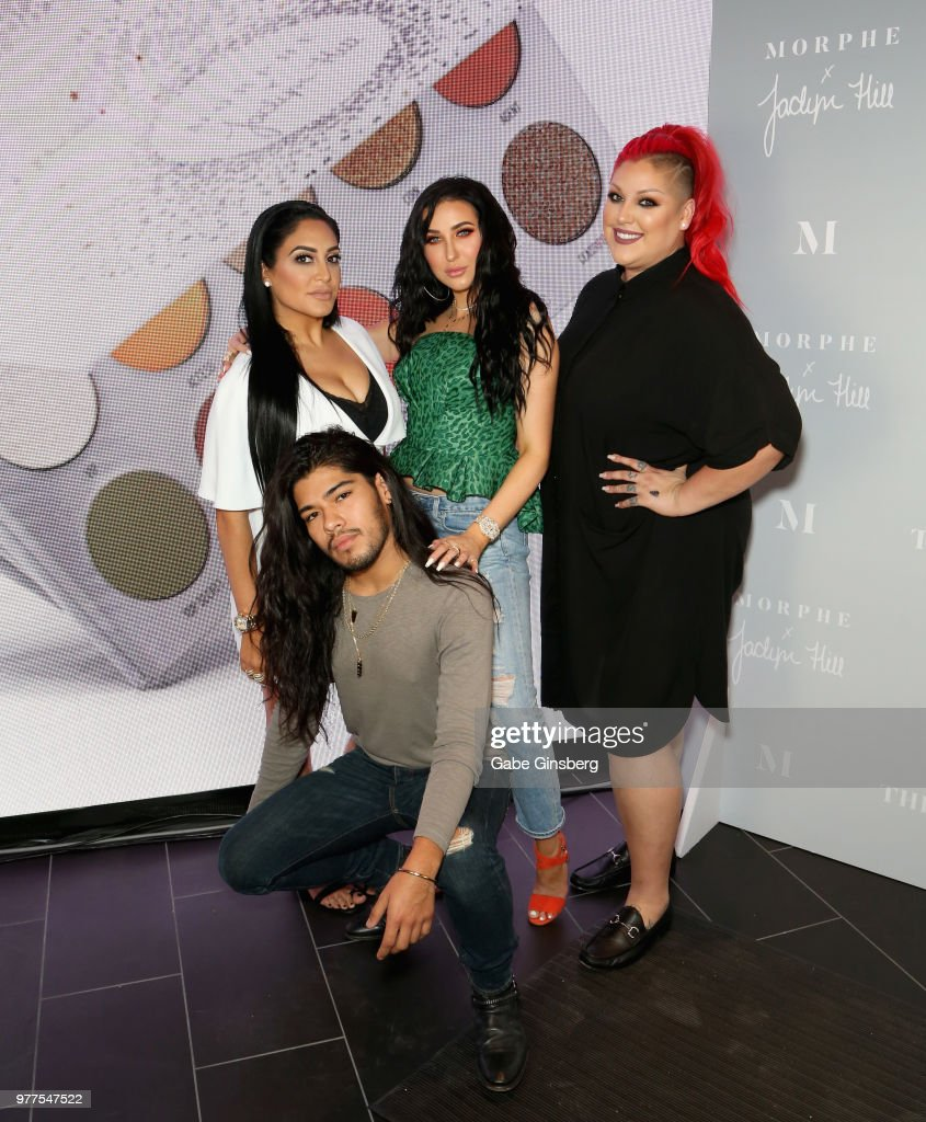 Morphe Store Opening With Jaclyn Hill At Miracle Mile Shops LasVegas : News Photo
