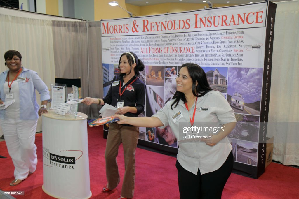 Home Design And Remodeling Show Part - 49: Morris And Reynolds Insurance Vendor At The Home Design And Remodeling Show  At Miami Beach Convention
