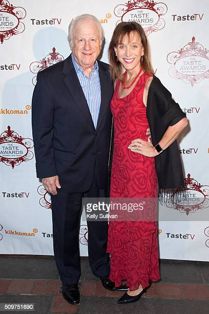 Morris and Sharon Bobrow arrive at the 7th Annual Taste Awards at the Castro Theatre on February 11 2016 in San Francisco California