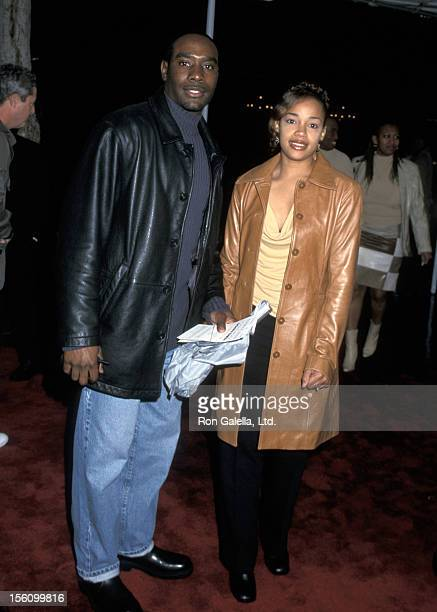 Morris Chestnut and Pam Byse during 'Down To Earth' Los Angeles Premiere at Chinese Theatre in Hollywood California United States