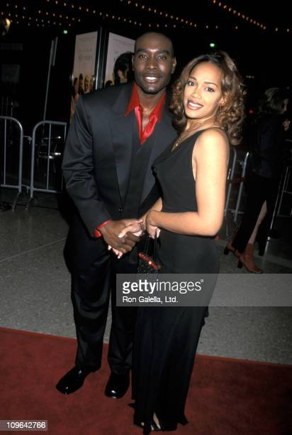 Morris Chestnut and Pam Byse during Premiere of The Brothers at Loews Century Plaza Theater in Century City California United States