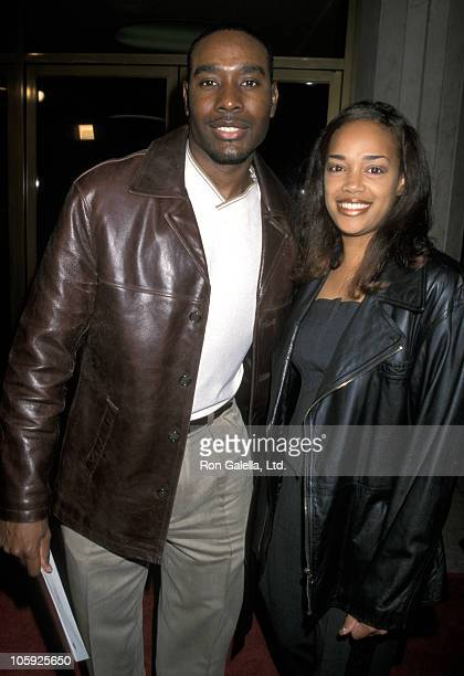 Morris Chestnut and Pam Byse during Special Screening of The Bone Collector at Mann's National Theater in Westwood California United States