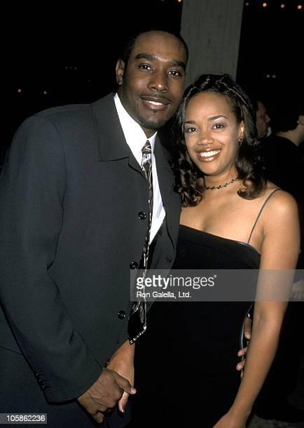Morris Chestnut and Pam Byse during The Best Man Premiere at Cineplex Odeon Century Plaza Cinema in Century City California United States