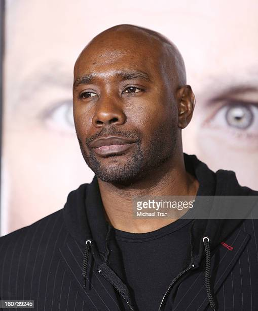 """Morris Chestnut arrives at the Los Angeles premiere of """"Identity Thief"""" held at Mann Village Theatre on February 4, 2013 in Westwood, California."""