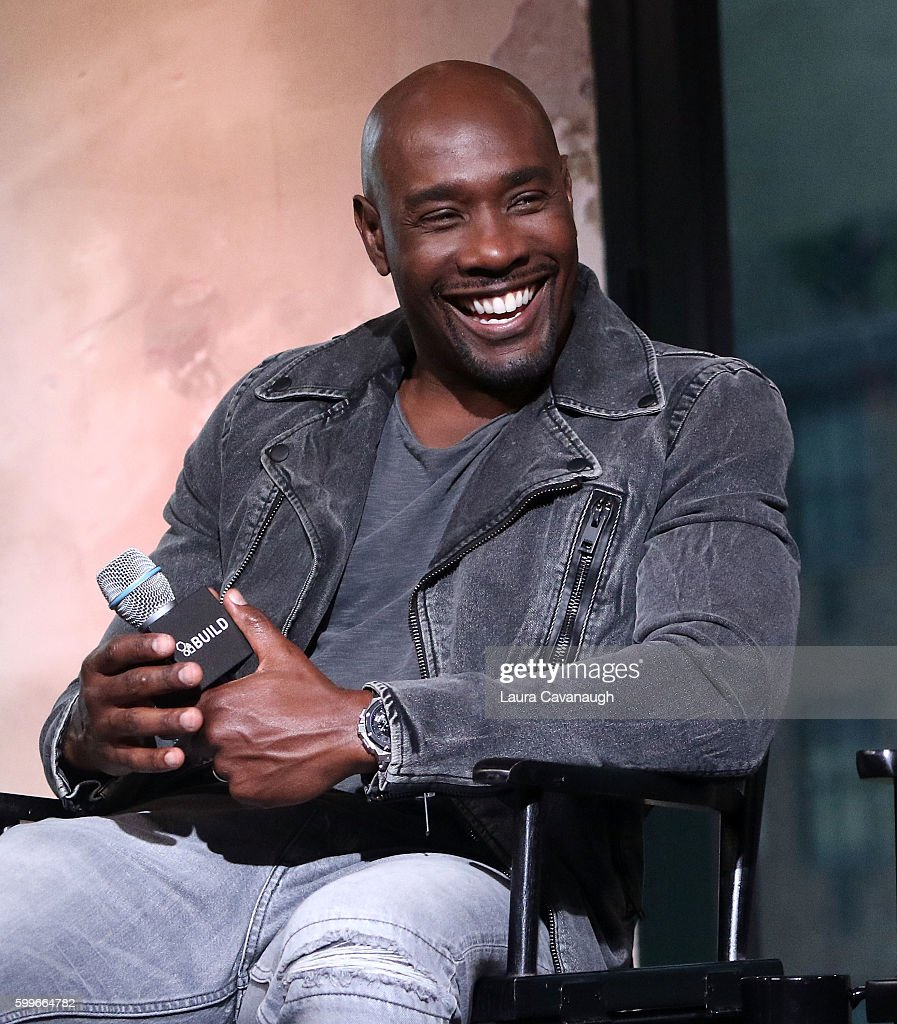 """The BUILD Series Presents Regina Hall And Morris Chestnut Discussing The New Film """"When the Bough Breaks"""" : News Photo"""