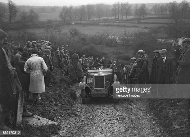 Morris Cowley Vehicle Reg. No. UC9162. Event Entry No: 242, Driver: R.J. Barker. Award: Silver. Place: Ibberton Hill, Dorset. M.C.C. Exeter Trial....