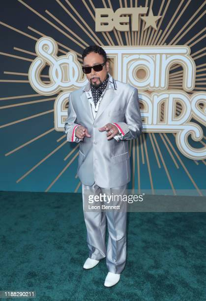 Morris Day attends the 2019 Soul Train Awards presented by BET at the Orleans Arena on November 17 2019 in Las Vegas Nevada