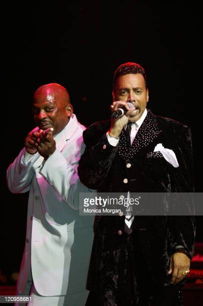 Morris Day Jerome Archive June 27 2005 during Morris Day and Jerome in Concert June 27 2005 at Chene Park Amphitheatre in Detroit Michigan United...