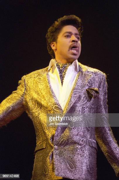 Morris Day of the band The Time performs during his solo show at First Avenue nightclub in Minneapolis Minnesota in December 1985