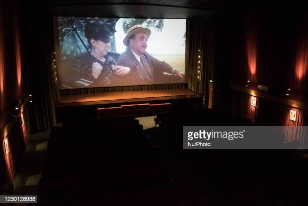 Morris Donini, the owner of Cinema Mandrioli in Ca De Fabbri, open his theatre and screens movies every day for one spectator only - himself - as...