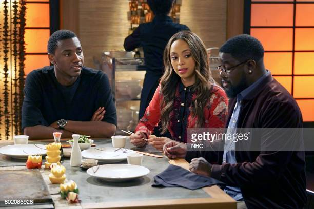 SHOW 'Morris' Episode 308 Pictured Jerrod Carmichael as Jerrod Carmichael Amber Steven West as Maxine North Lil'Rel Howery as Bobby Carmichael
