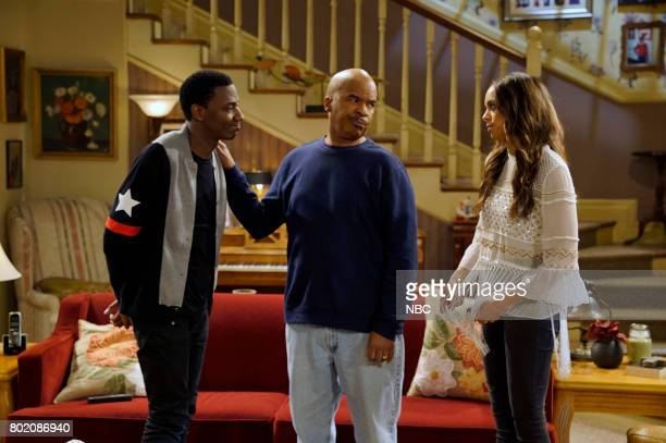 SHOW 'Morris' Episode 308 Pictured Jerrod Carmichael as Jerrod Carmichael David Alan Grier as Joe Carmichael Amber Stevens West as Maxine North