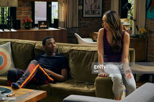 SHOW 'Morris' Episode 308 Pictured Jerrod Carmichael as Jerrod Carmichael Amber Stevens West as Maxine North