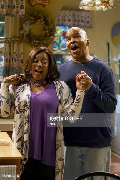 "Morris"" Episode 308 -- Pictured: Loretta Devine as Cynthia Carmichael, David Alan Grier as Joe Carmichael --"