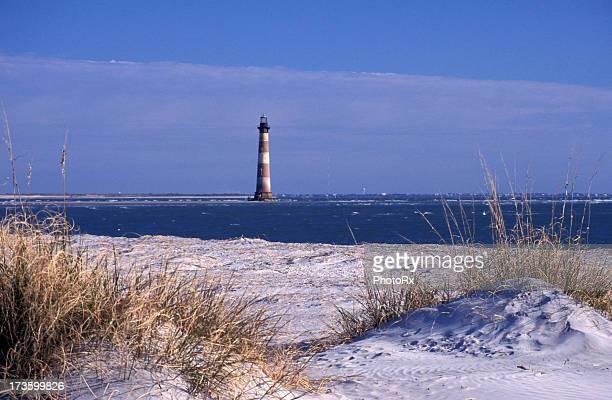 Morris Island Lighthouse at Folley Beach