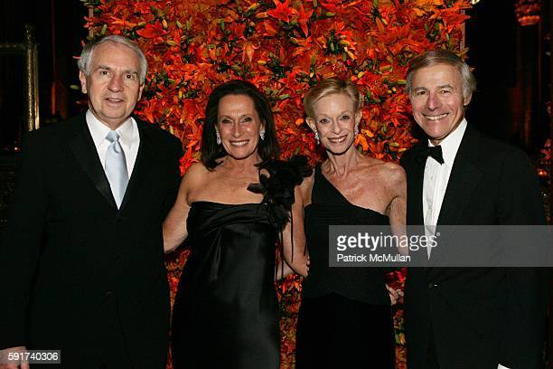 Morris Mark Susan Mark Linda Lindenbaum and Sandy Lindenbaum attend The American Friends of the Israel Museum 40th Anniversary Gala at Cipriani 42nd...