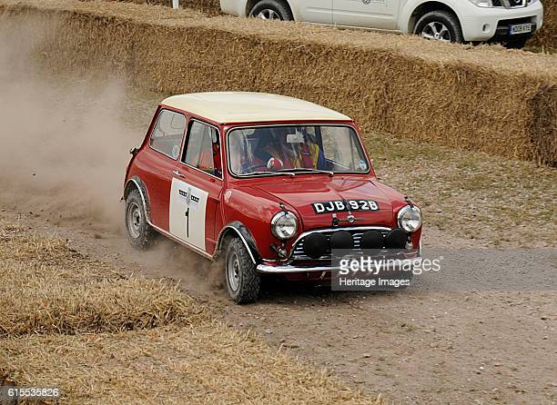 Morris Mini Cooper S Goodwood Festival of speed Artist Unknown