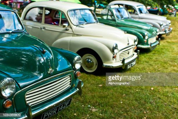 morris minors - motor show stock pictures, royalty-free photos & images