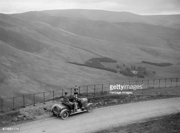 Morris open 2-seater, Ericstane Brae, North of Moffat, Dumfries, Scotland, 1920s. Artist: Bill Brunell.