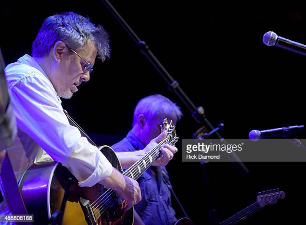 Morris performs onstage at the HonkyTonkin' Twenty Years On Lower Broad Anniversary Concert at the Country Music Hall of Fame and Museum during the...
