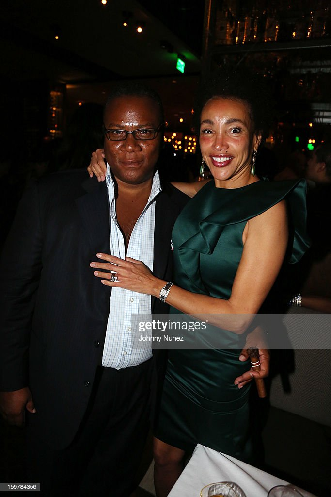 Morris Reid and Jaci Reid attend the After@inauguration Celebration on January 19, 2013 in Washington, United States.