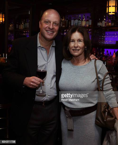 Morris S Levy and Ruth Magid attend Eyeless In Gaza NYC Premiere Screening After Party on February 8 2017 in New York City