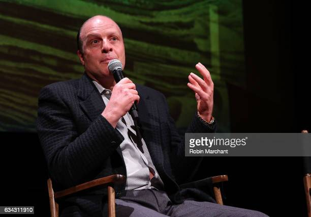Morris S Levy attend Eyeless In Gaza NYC Premiere Screening QA Panel on February 8 2017 in New York City