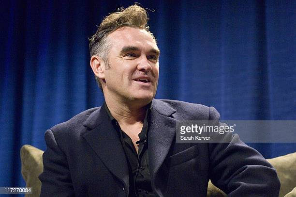 Morrissey during 20th Annual SXSW Film and Music Festival Morrissey Interview in Austin Texas United States