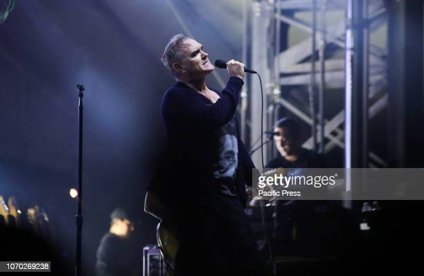 Morrissey of the legendary English rock group The Smiths headlines Tropicalia Fest in Southern California.