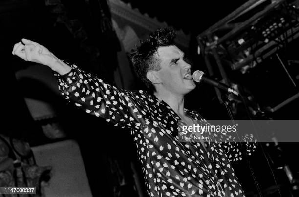 Morrissey of the Smiths at the Aragon Ballroom In Chicago Ilinois July 1 1985 nnn