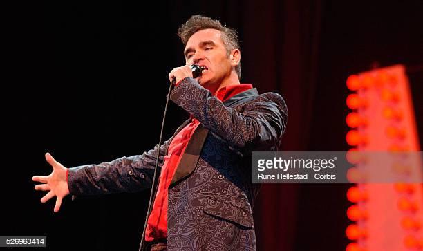 Morrissey Performing at Glastonbury Festival