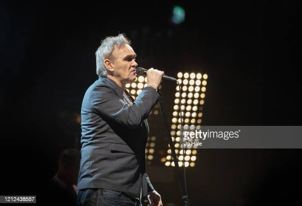 Morrissey performs at The SSE Arena Wembley on March 14 2020 in London England