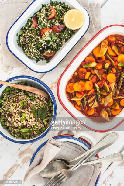 morroccan lunch banquet, diagonal - moroccan culture stock pictures, royalty-free photos & images