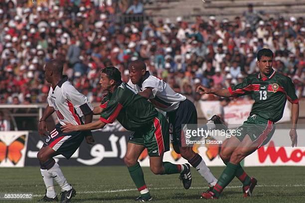 Morroco/England match.