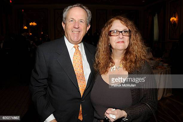 Mort Goldfein and Margarie Broach attend 25TH ANNUAL WOMEN IN NEED GALA DINNER at The Pierre Hotel on April 9 2008 in New York City
