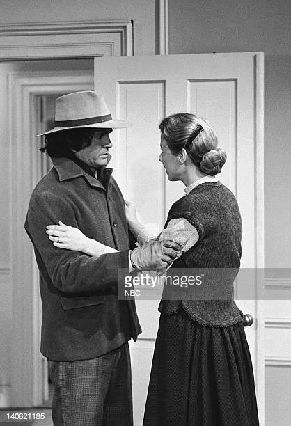 PRAIRIE Mortal Mission Episode 23 Aired 3/12/79 Pictured Michael Landon as Charles Philip Ingalls Karen Grassle as Caroline Quiner Holbrook Ingalls...