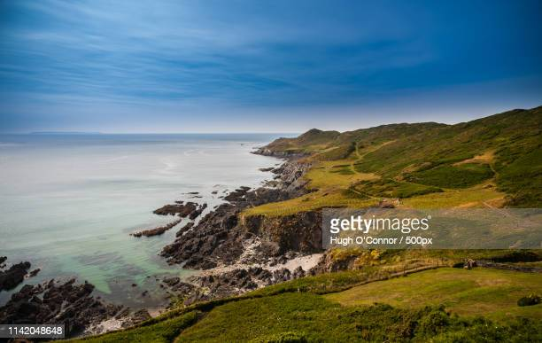 morte point - ilfracombe stock pictures, royalty-free photos & images