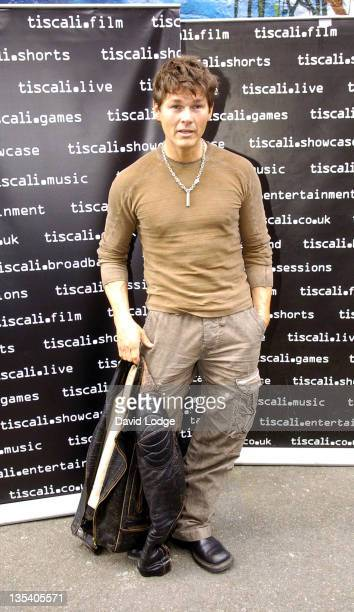 Morten Harket of AHa during 'Tiscali Secret Sessions' at Cargo in London April 3 2006 at Cargo in London Great Britain