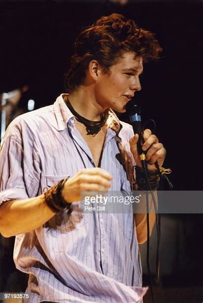 Morten Harket of AHa performs on stage at The Royal Albert Hall on December 29th 1986 in London England