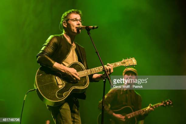 Morten Harket performs at L'Olympia on July 5 2014 in Paris France