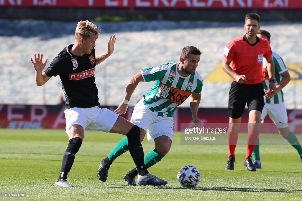 FC Flyeralarm Admira v SV Mattersburg - tipico Bundesliga : Nachrichtenfoto