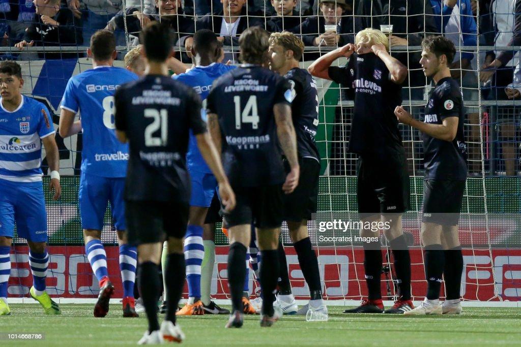 Morten Thorsby of SC Heerenveen during the Dutch Eredivisie match between PEC Zwolle v SC Heerenveen at the MAC3PARK Stadium on August 10, 2018 in Zwolle Netherlands