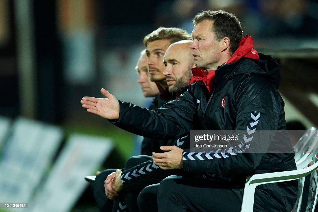 FC Roskilde vs AaB Aalborg - Danish SYDBANK Pokalen Cup : News Photo