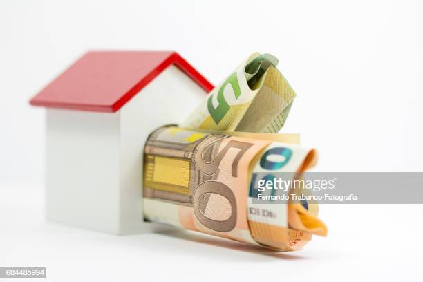 Mortgage. Buying a house with lots of money