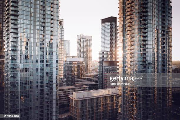mortgage for condo - tower stock pictures, royalty-free photos & images
