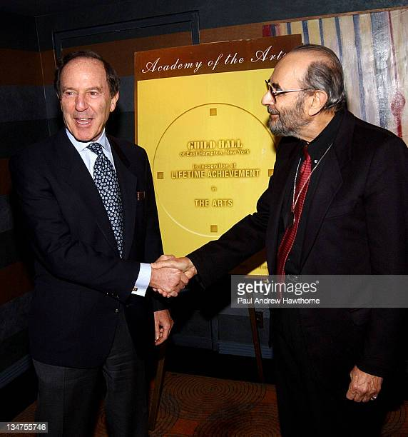 Mortimer Zuckerman and Stanley Donen during 19th Annual Academy of the Arts Lifetime Achievement Awards Gala conducted by Guild Hall of East Hampton...