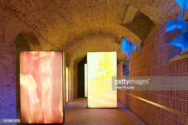 Mortiz Brewery Factory In Barcelona By Ateliers Jean Nouvel Brick Wall With Periscope Windowjean Nouvel Spain Architect