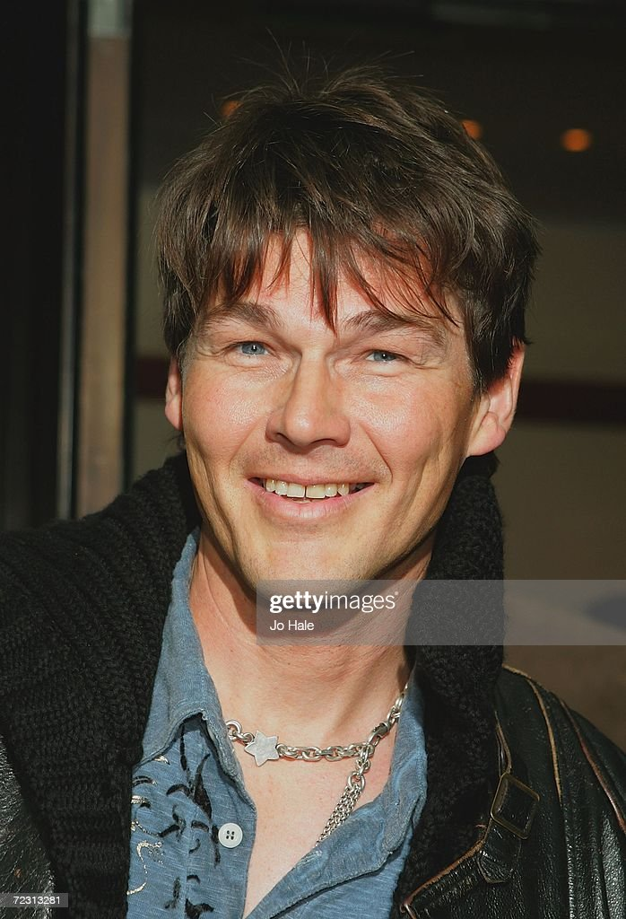 Morton Harket from A-ha arrives at the Q Awards 2006 held at the Grosvenor House Hotel on October 30, 2006 in London, England.