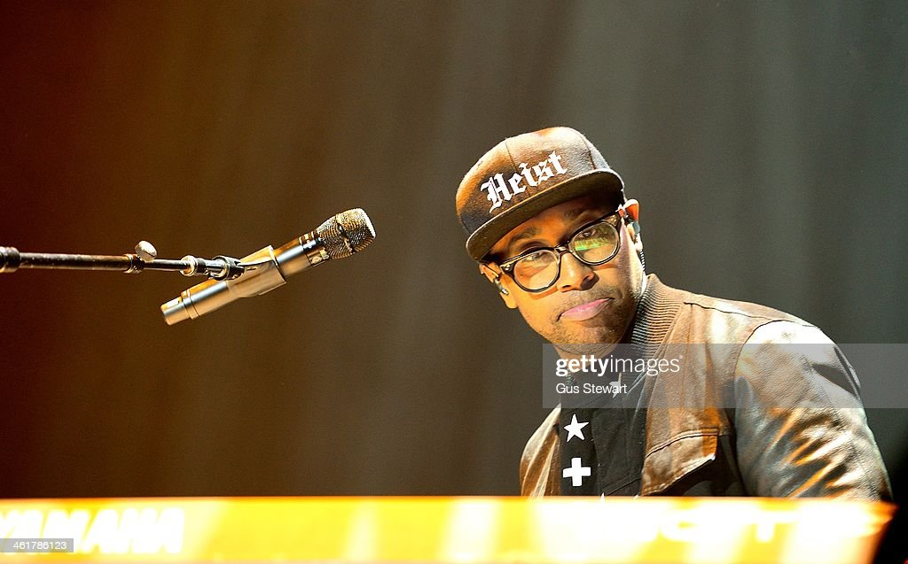 PJ Morton performs on stage at O2 Arena on January 10, 2014 in London, United Kingdom.