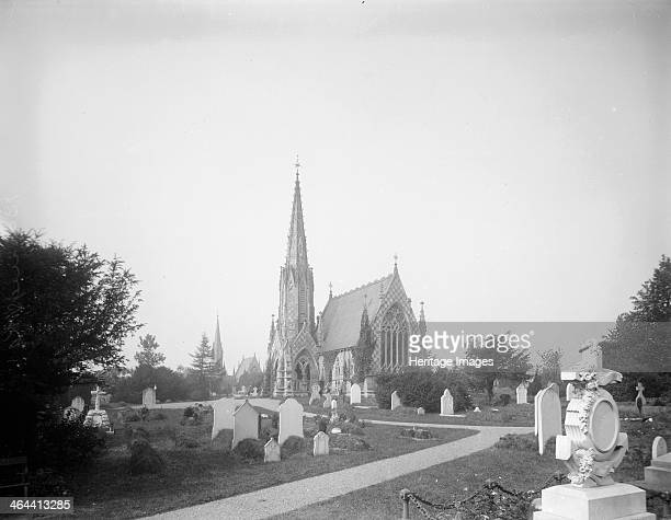 Mortuary chapel at Basingstoke Cemetery Basingstoke Hampshire 1890